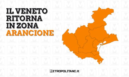 Il Veneto torna in zona arancione. Ecco le regole
