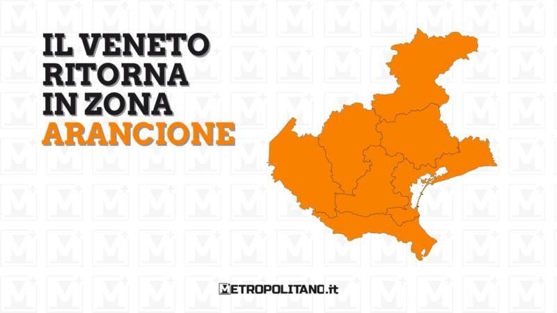 Ufficiale: il Veneto torna in zona arancione. Ecco le regole