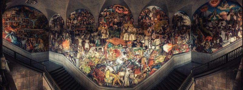Diego Rivera Palazzo Nazionale