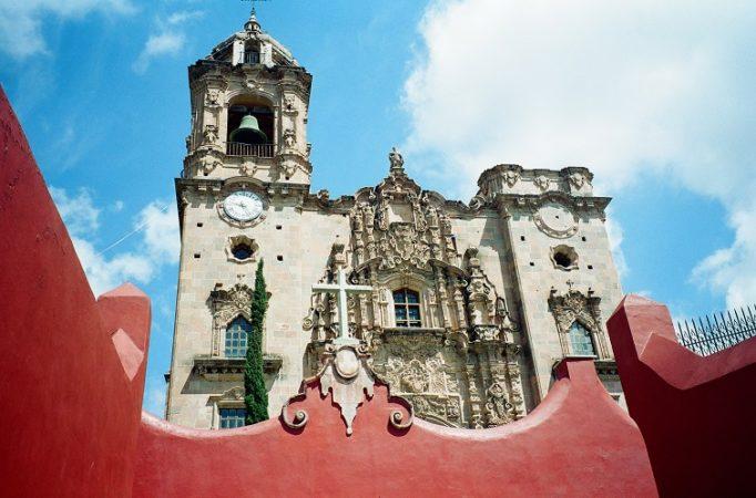 Guanajuato, chiesa Valenciana Messico