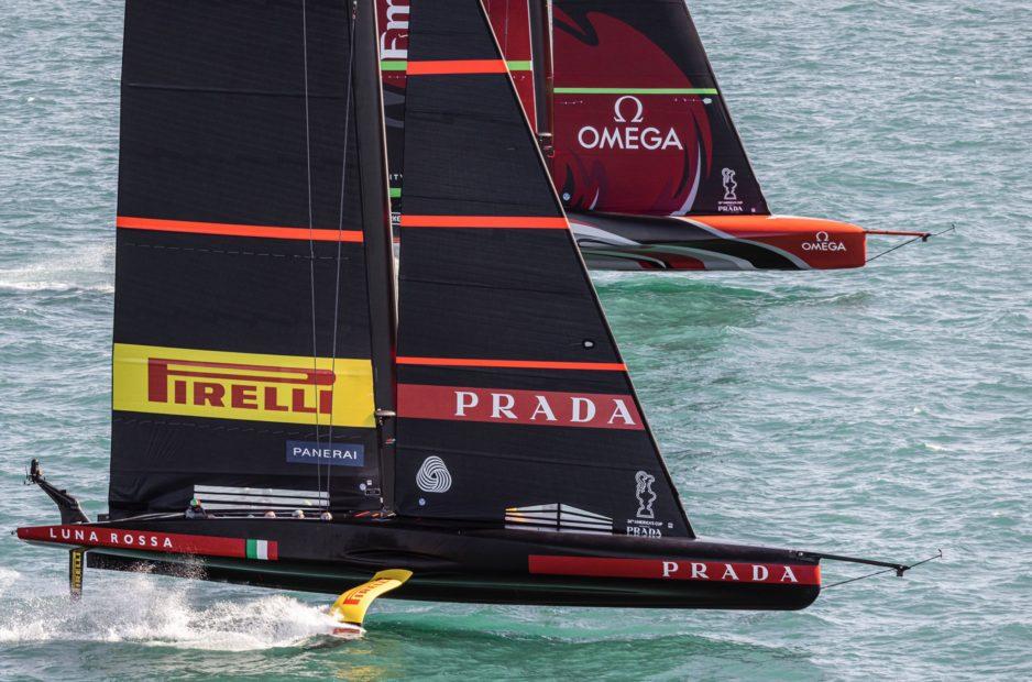 Luna Rossa - New Zealand: parte la sfida finale dell'America's Cup