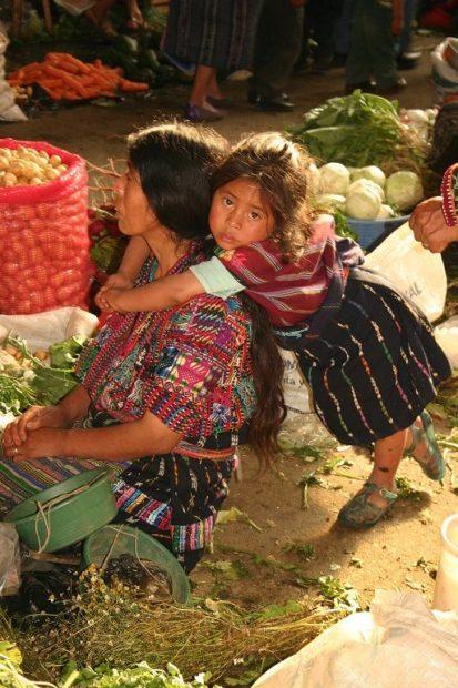 Guatemala Mercato di Antigua Guatemala
