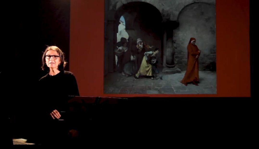 PAOLA ROSSI - TANTO GENTILE Dante Alighieri celebrazioni