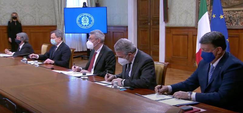 """Firma del """"Patto per l'innovazione del lavoro pubblico e la coesione sociale"""""""