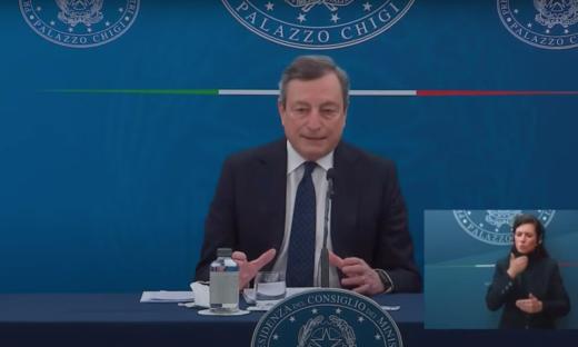 """Decreto sostegni. Draghi: """"Pagamenti dall'8 aprile"""""""