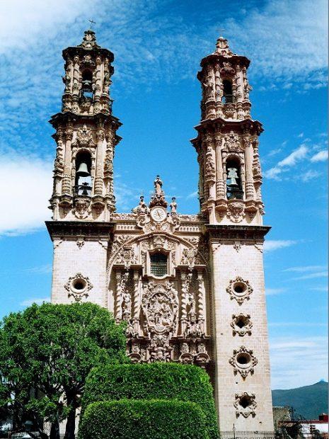 Taxco, cattedrale di Santa Prisca Messico