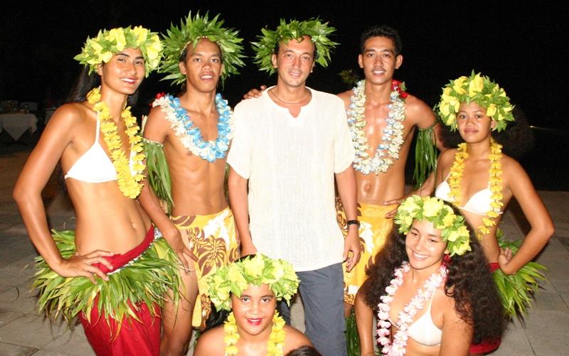 Polinesia danzatori
