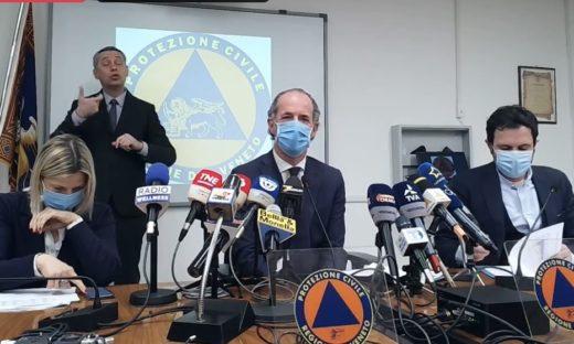 Il Veneto conclude le vaccinazioni agli over 80 per fine settimana