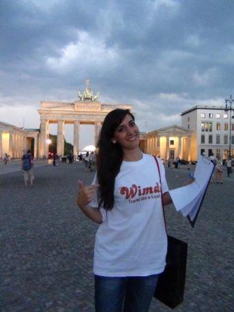 Serena Isone. Berlino-Porta di Brandeburgo