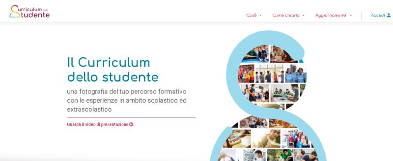 Curriculum studente