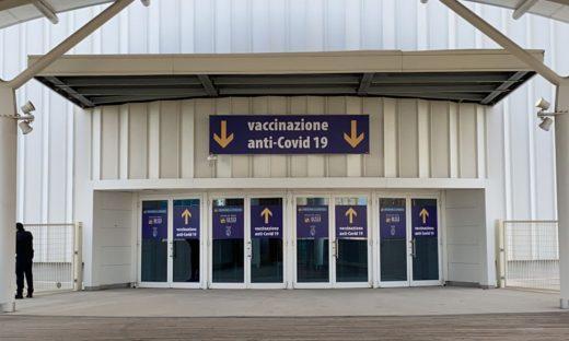 Veneto: aperto il più grande centro vaccinazioni della regione