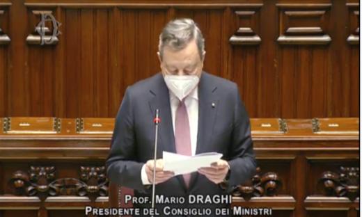 Il premier Draghi: In questo piano c'è il futuro dell'Italia