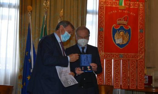 A Luigi Brugnaro e Federico Casarin la Stella d'Oro Coni al Merito sportivo