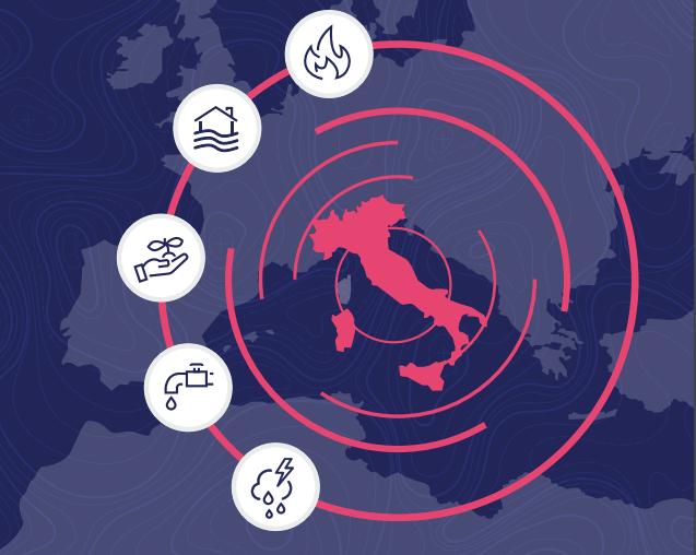Cambiamenti climatici: ecco cosa rischia l'Italia