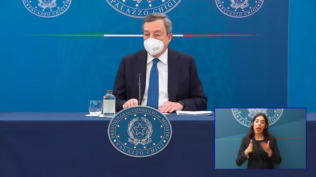 """Draghi: """"Scommettiamo sulla crescita"""". Ecco come si andrà a riaprire"""