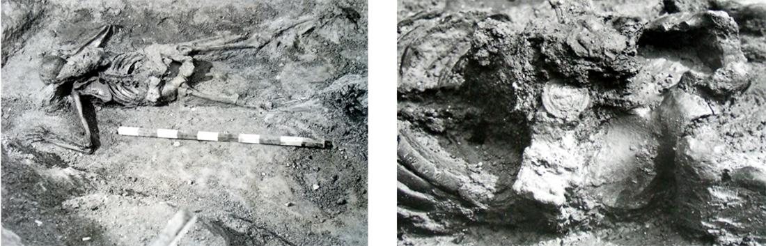 ritrovamento scavi Ercolano