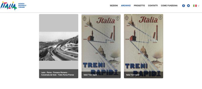 Dal sito Enit Archivio storico del Turismo