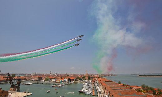 Salone Nautico di Venezia al via sabato 29: tornano le Frecce Tricolori sulla città