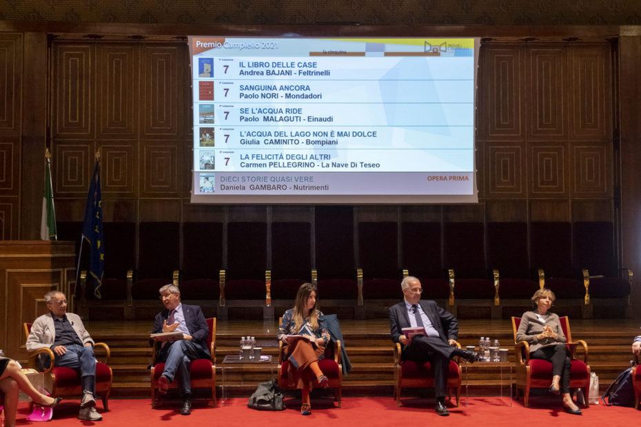 Premio Campiello: elette le cinque opere finaliste