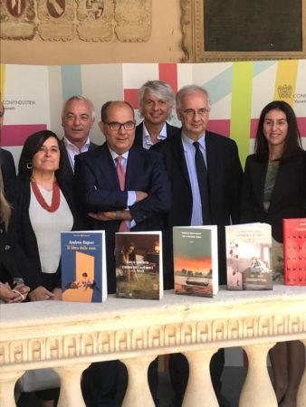 Premio Campiello presidente Carraro, Walter Veltroni e alcune delle aziende sostenitrici