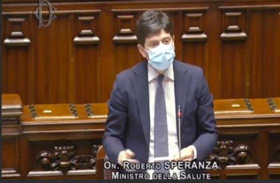Roberto Speranza ministro della salute