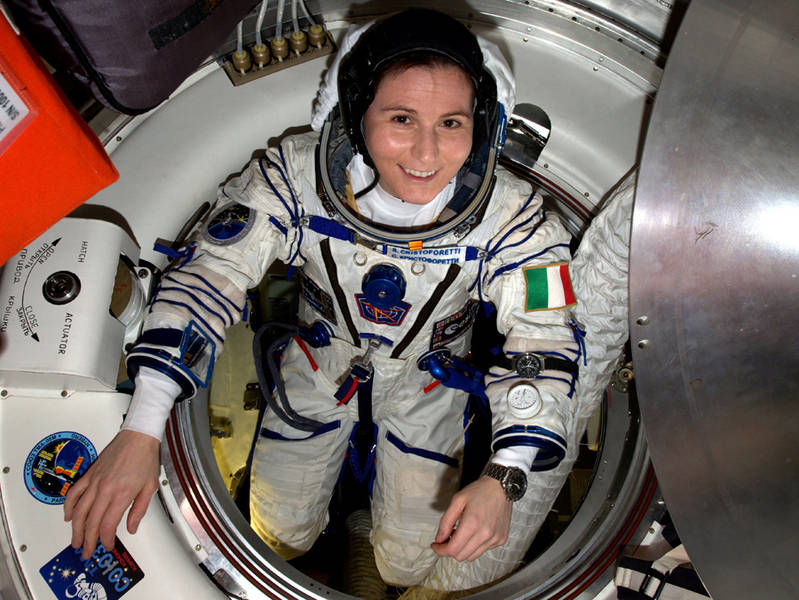 Spazio, Samantha Cristoforetti prima donna europea a prendere il comando della Stazione spaziale internazionale