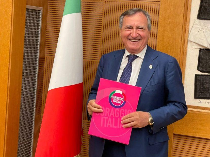 Coraggio Italia: chi è Luigi Brugnaro