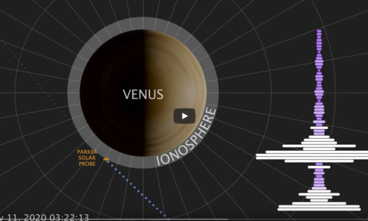 C'è suono su Venere. Il video della Nasa