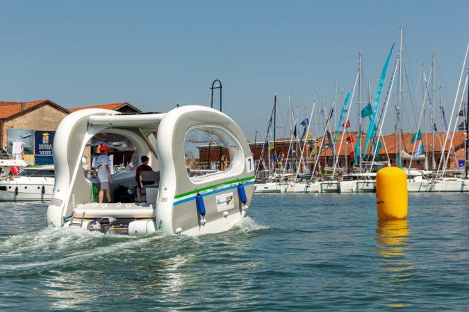 Imbarcazione e-regatta
