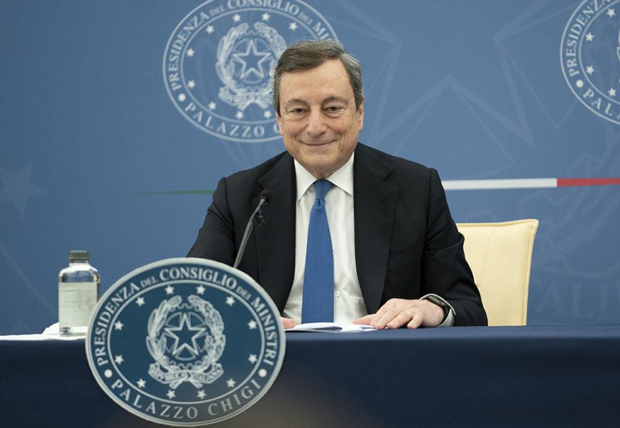 """Draghi al G20 Donne: """"Dobbiamo difendere i diritti delle donne ovunque nel mondo"""""""