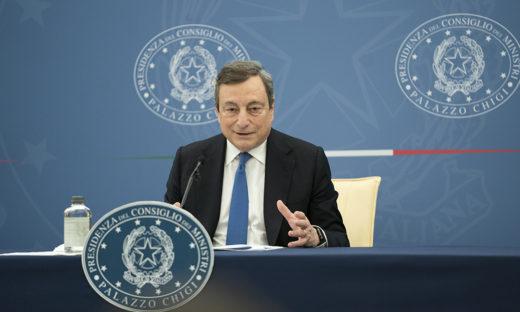 """Women Political Leaders Summit, Draghi: """"7 miliardi di euro per la promozione dell'uguaglianza di genere entro il 2026"""""""