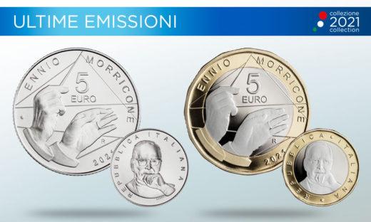 Il conio di una moneta per celebrare il maestro Ennio Morricone