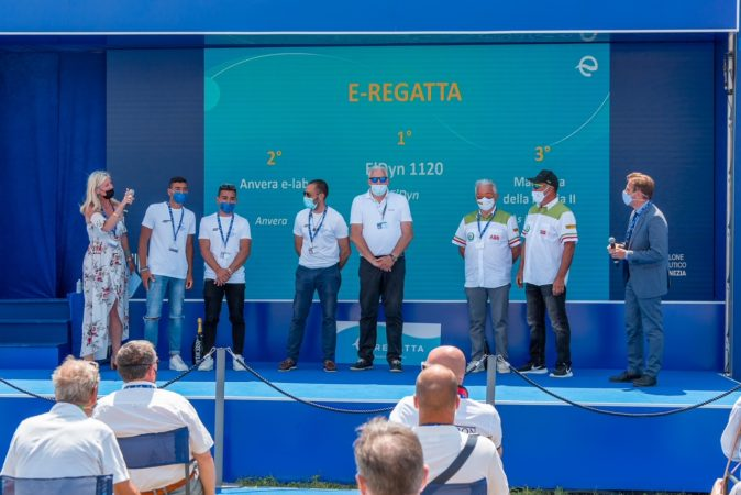 Premiazione E-Regatta Salone Nautico Venezia