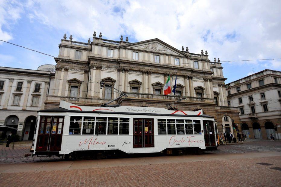 Milano: un tram dedicato a Carla Fracci. Era quello che guidava il padre