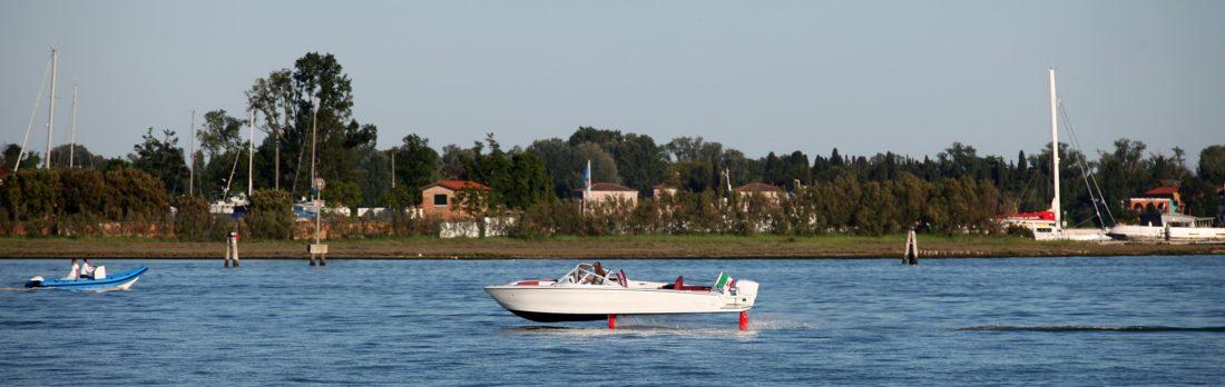 Al Salone Nautico di Venezia una barca con le ali