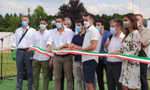 Igor Cassina a Venezia per lanciare la prima area fitness outdoor accessibile a tutti