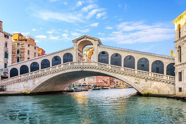 Venezia, Ponte di Rialto: 433 anni fa, la posa della prima pietra