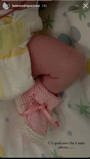 Belen Rodriguez partorisce la sua secondogenita in Veneto