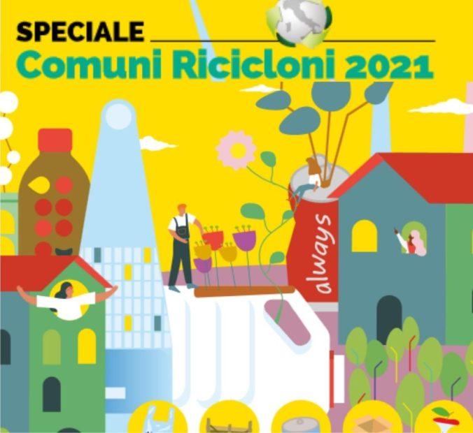 """Rifiuti, Legambiente stila la classifica dei """"Comuni ricicloni"""" 2021"""