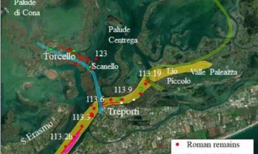 Una strada romana sotto il canale riscrive la storia della Laguna