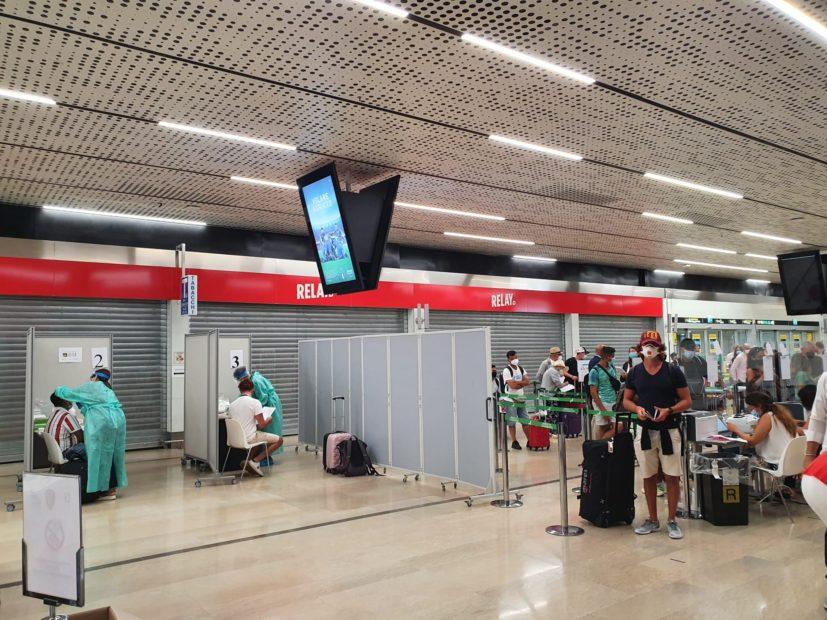 Aumentano i punti per i tamponi all'Aeroporto Marco Polo di Venezia