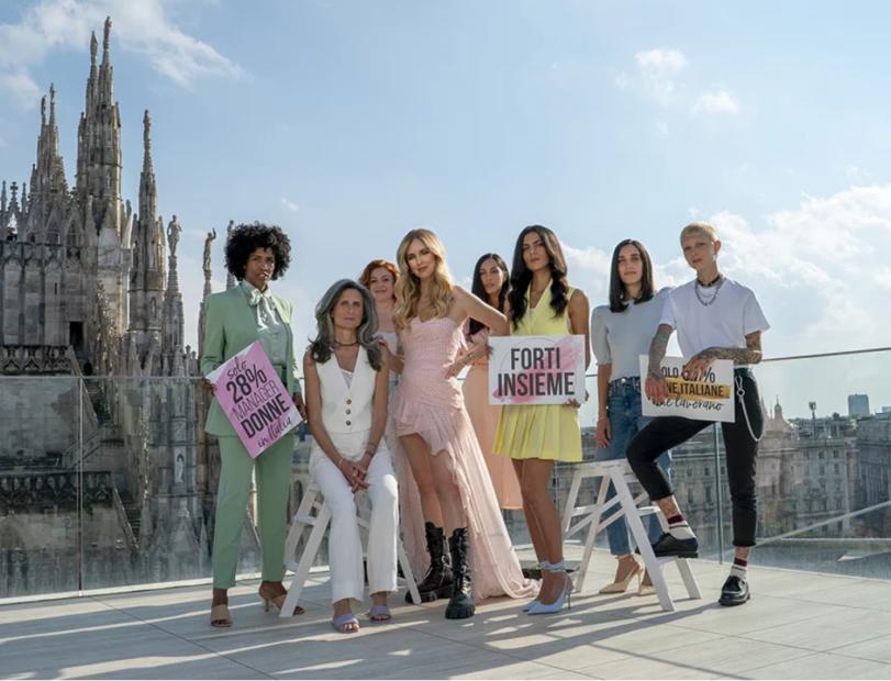 """""""Forti insieme"""": Chiara Ferragni a sostegno dell'imprenditorialità femminile"""