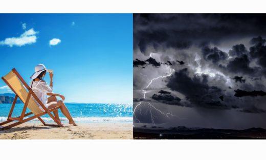 Che tempo che fa...ultima settimana di luglio tra temporali e afa