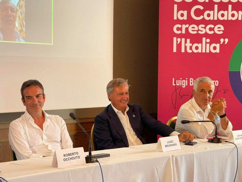 Coraggio Italia scioglie gli ormeggi: la prima sfida in Calabria