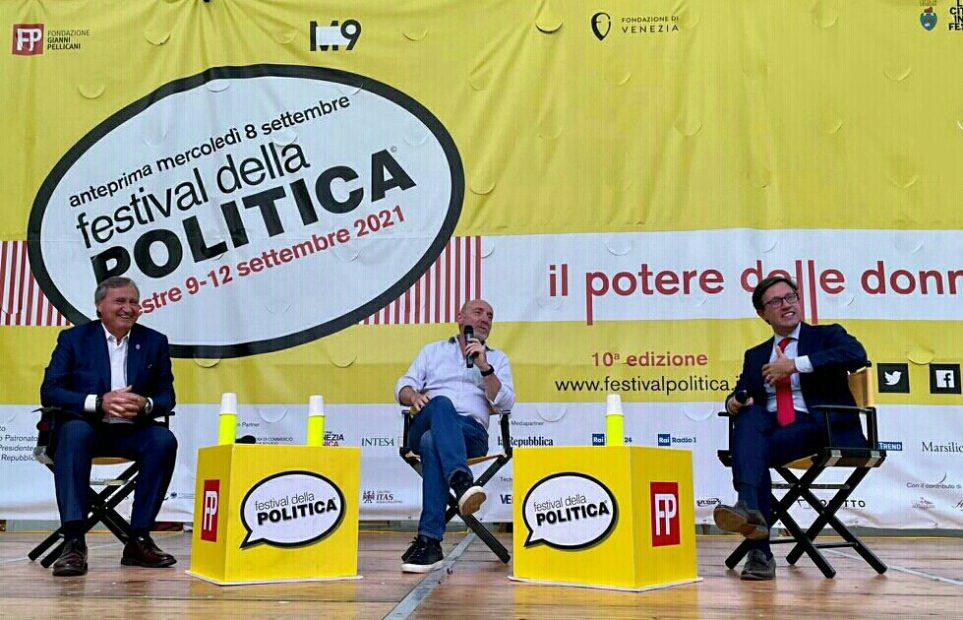 Strategie urbane: Brugnaro e Nardella al Festival della Politica
