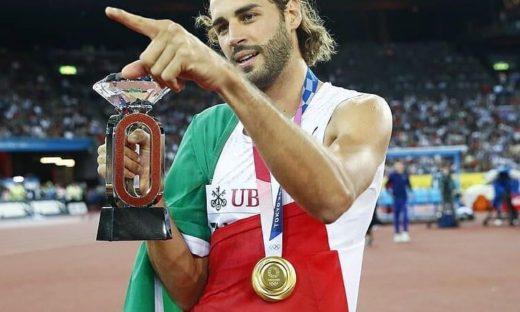 Gianmarco Tamberi sale sull'olimpo dell'atletica leggera