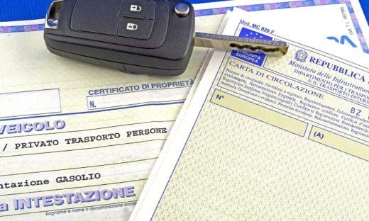 Auto: cambiano le regole sul documento unico di circolazione