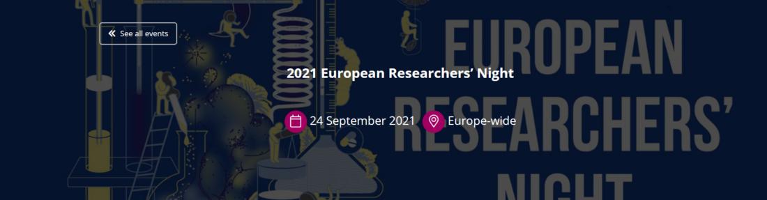 European Researchers Night 2021: l'Europa porta in piazza la Ricerca