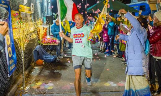 Un veneziano vince la corsa su strada più lunga del mondo