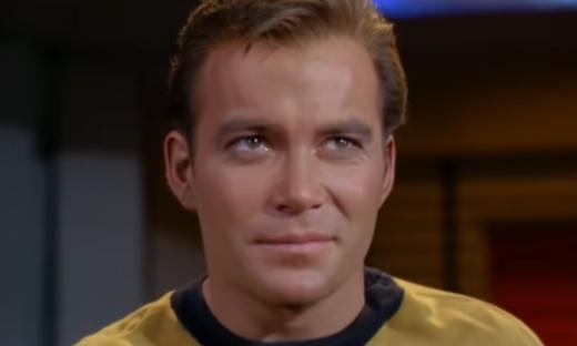 Il Capitano Kirk è pronto al decollo verso lo spazio